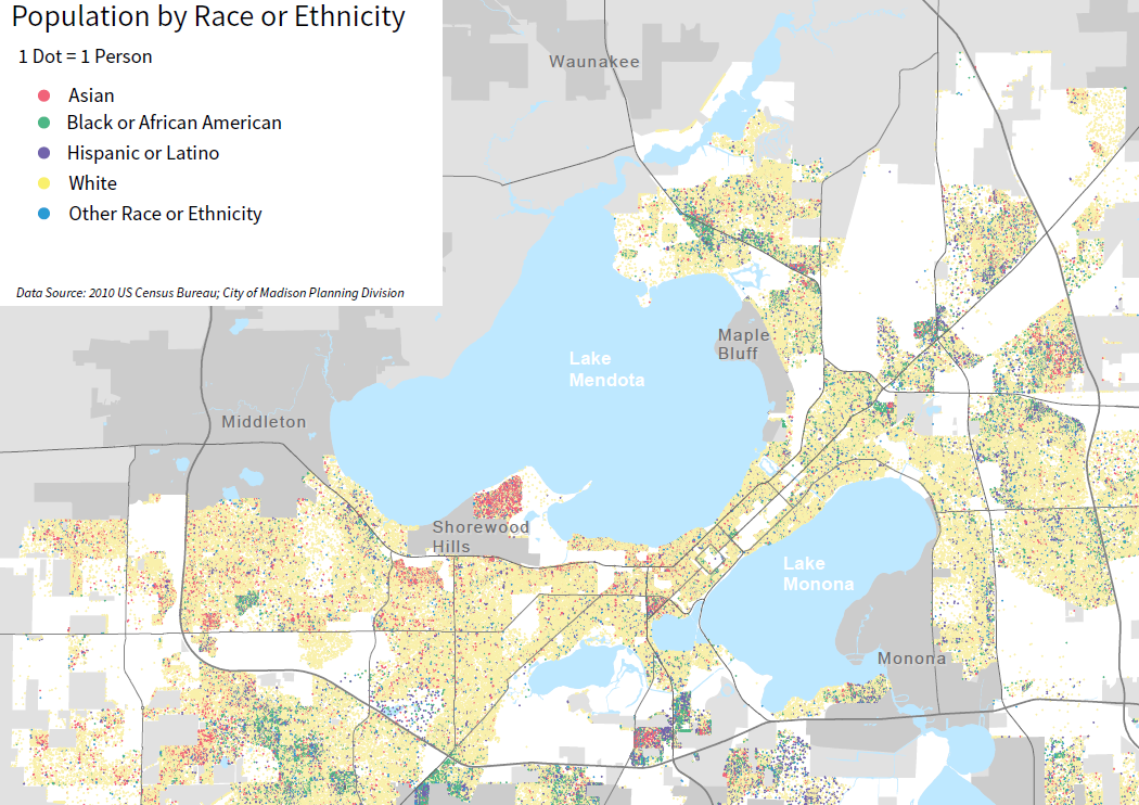 Demographic Background Maps Imagine Madison People Powered - Us map by ethnicity